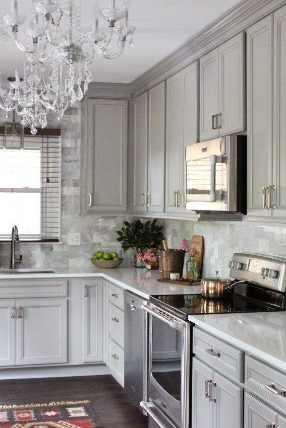 Tera Janelle, Gray Kitchen Ideas