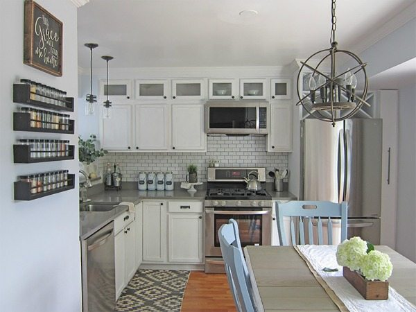 The Honeycomb Home, White Kitchen Ideas