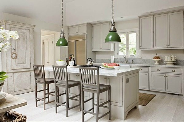 Tone on Tone Antiques, Gray Kitchen Ideas