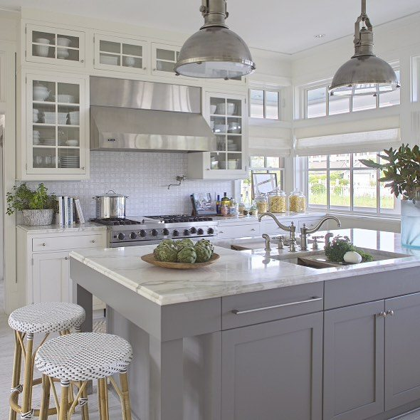 Grey And White Kitchens: Gray Kitchen Ideas