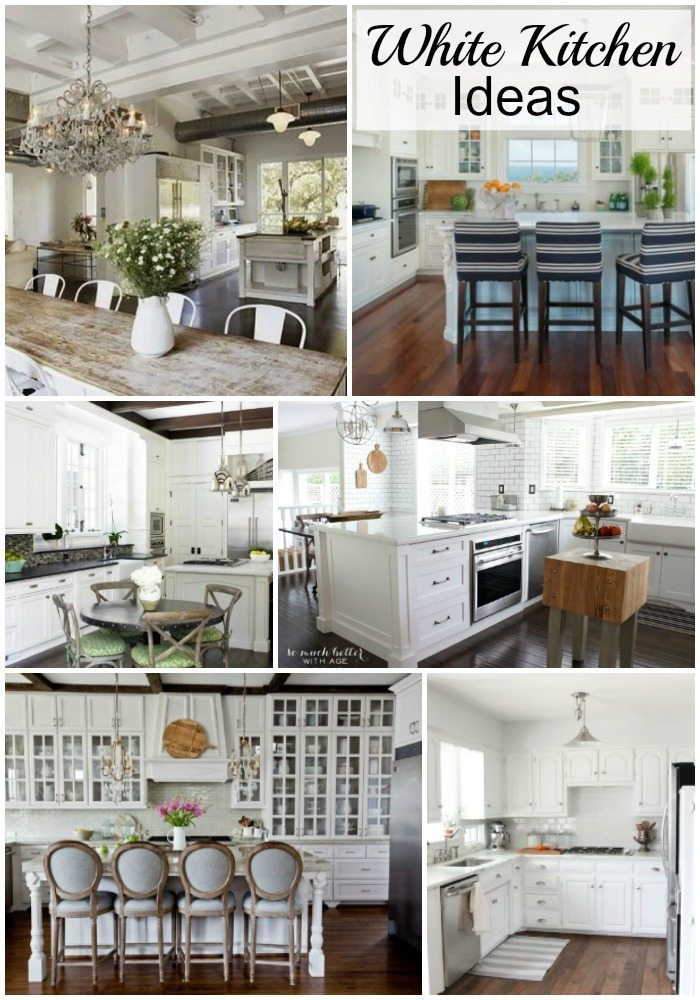 White Kitchen Ideas - Lots of light and bright ideas to transform your kitchen