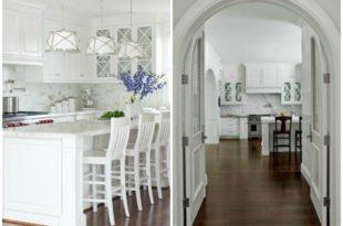 White Kitchen Ideas via Refresh Restyle