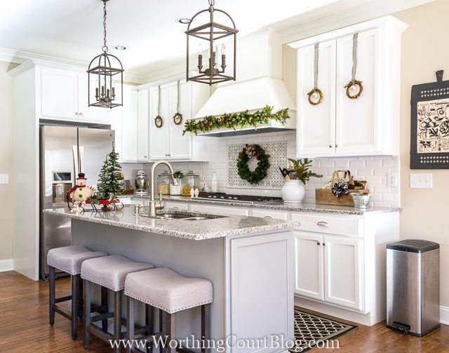 Worthing Court, Christmas in the Kitchen