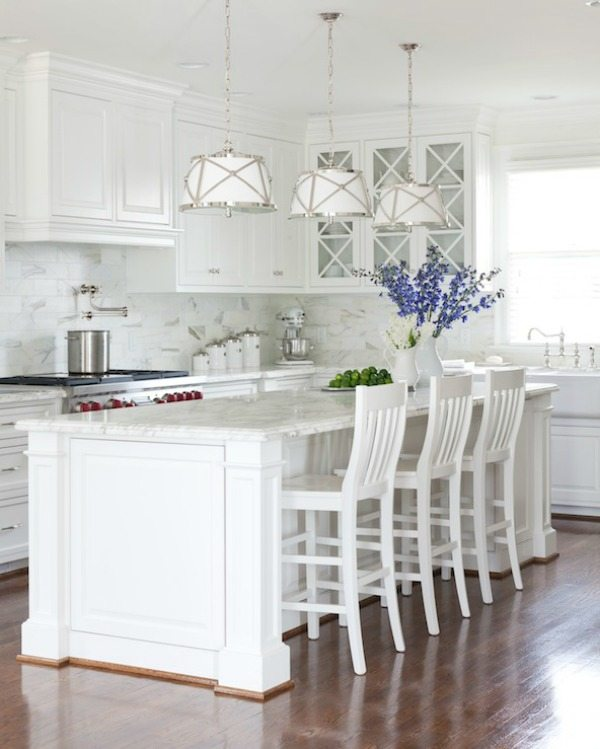 via Decorpad White Paint Colors, White Kitchen Ideas