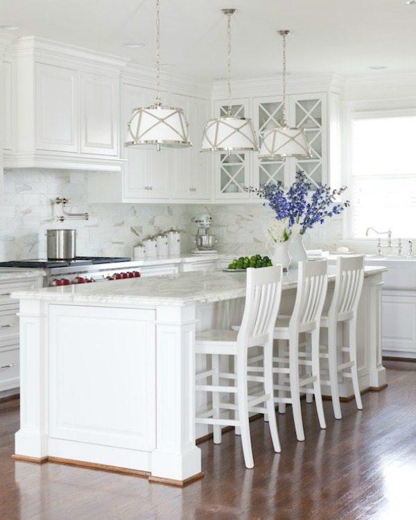 via Decorpad White Paint Colors, White Kitchen Ideas