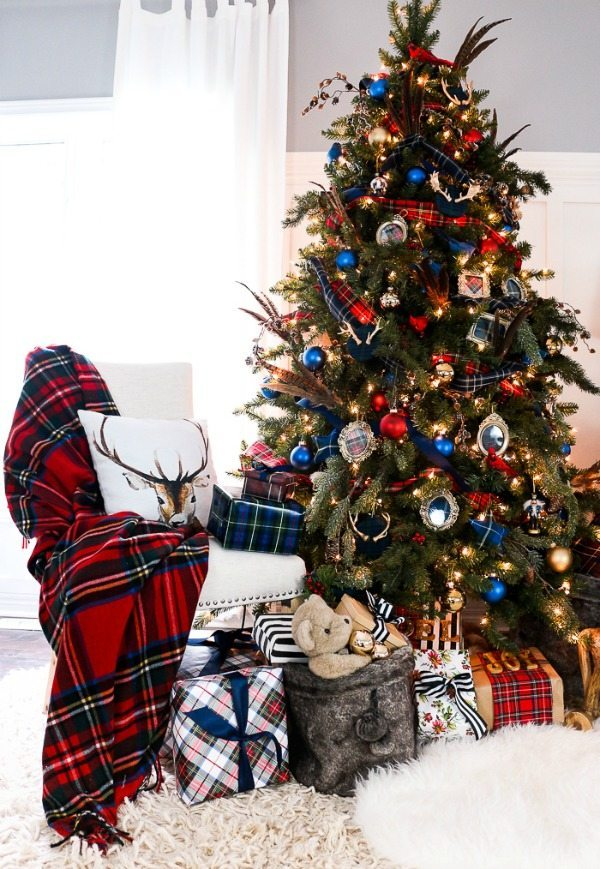 Craftberry Bush, Plaid Christmas Tree Ideas