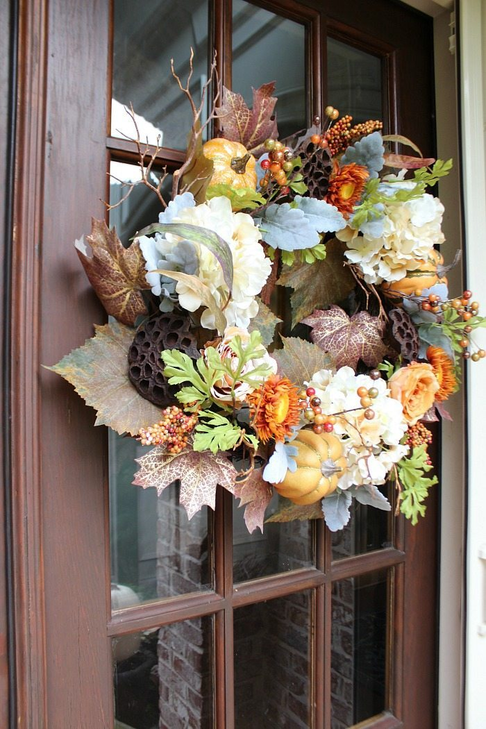 fall-wreath-from-sams-club-great-color-and-full-of-all-things-fall
