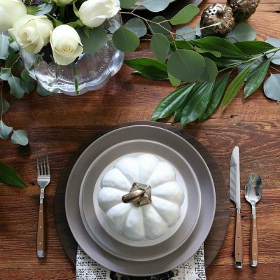 Farmhouse Dining Table: Fall