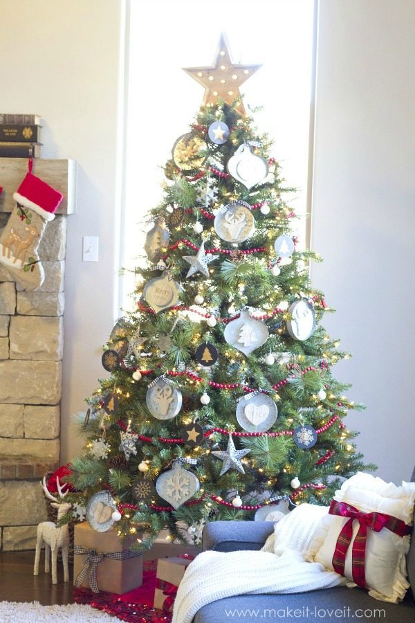 Make it & Love it, Plaid Christmas Tree Ideas