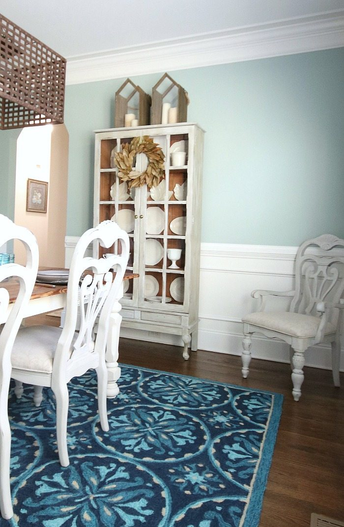 painted-pine-bookcase-with-natural-pine-inside-furniture-makeover