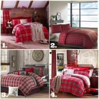 plaid-comforters-and-duvets-perfect-for-a-rustic-farmhouse-winter-bedroom