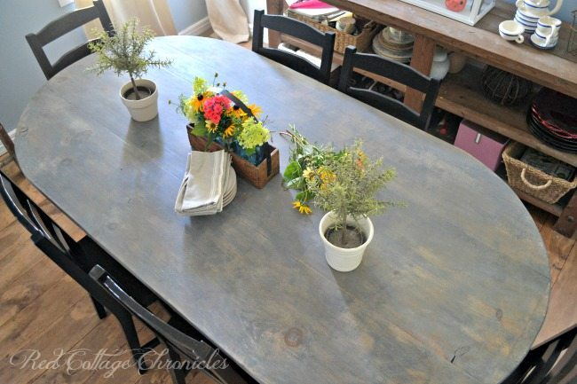 Red Cottage Chronicles, Farmhouse Tables