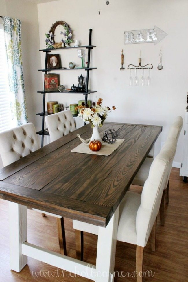The Kolb Corner, Farmhouse Tables via Refresh Restyle