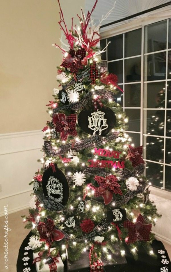 U Create, Plaid Christmas Tree Ideas