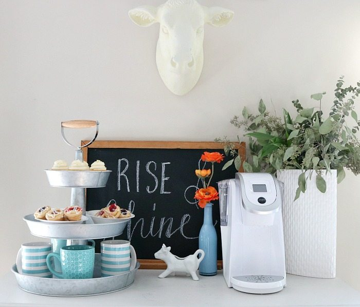 farmhouse-coffee-bar-with-sweet-treats-served-in-a-3-tier-galvanized-stand