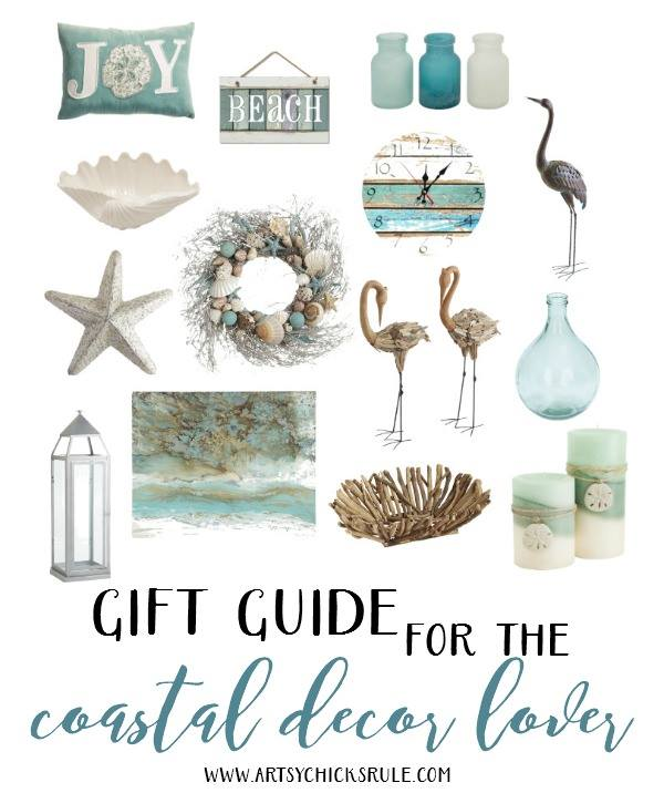 Gift Guide for the Coastal Decor Lover
