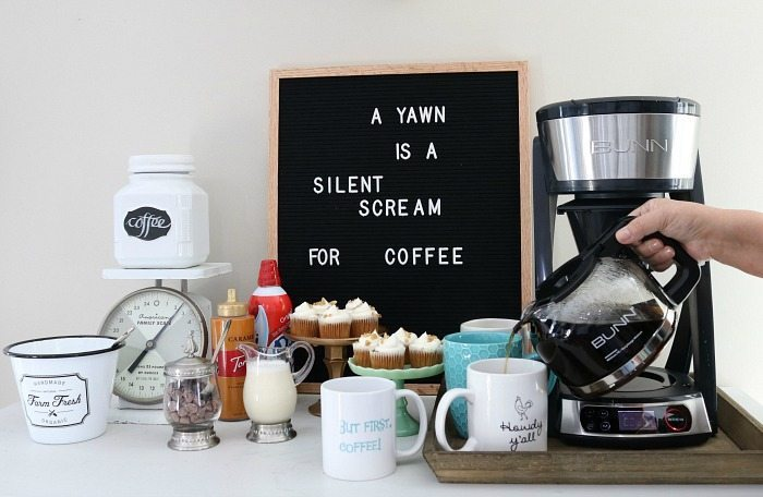 BUNN pro style coffee brewer for coffee house coffee at home