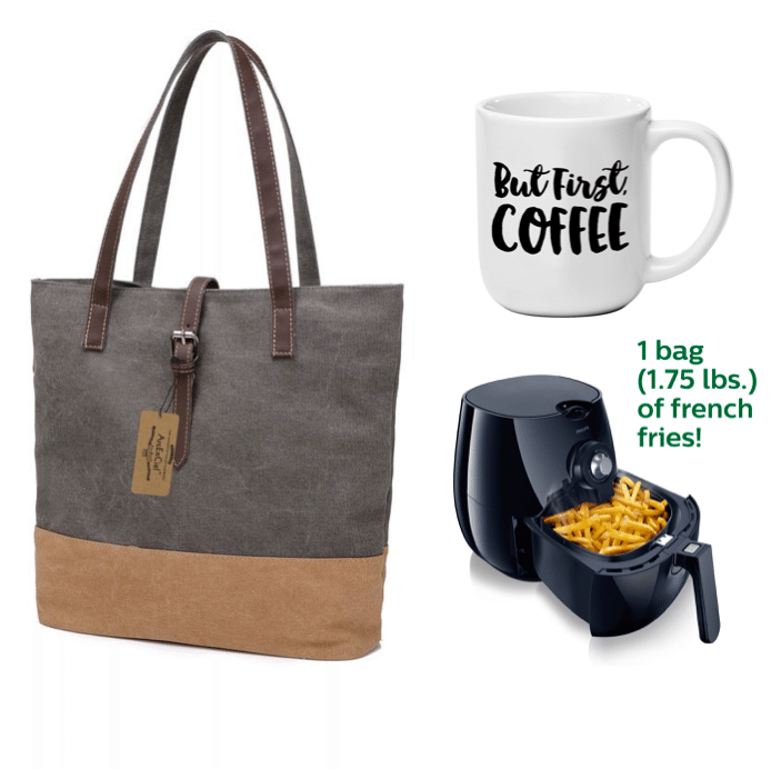 canvas-tote-awesome-coffee-mug-and-air-fryer