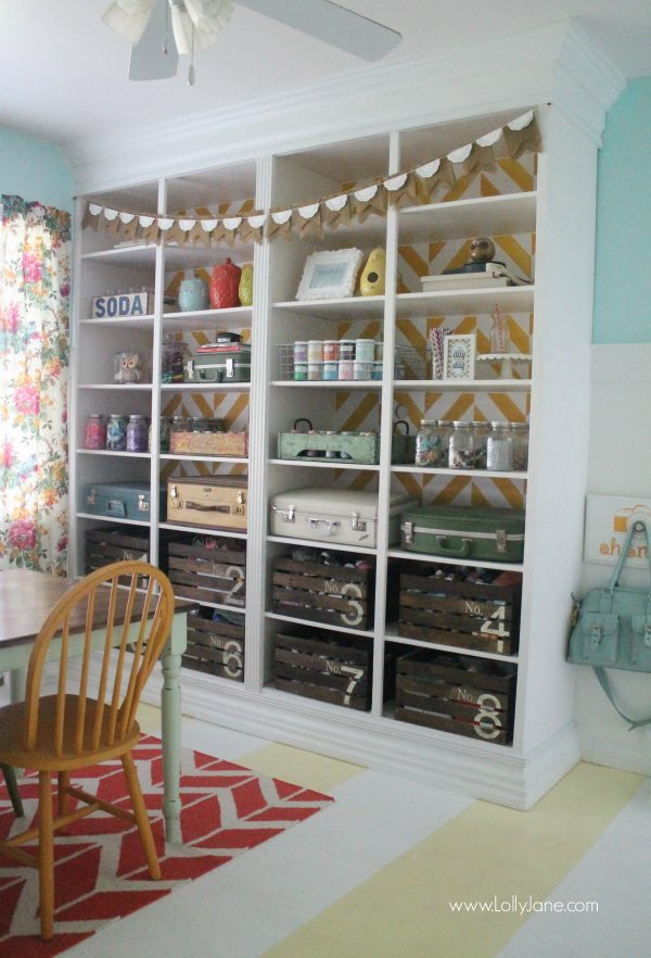Craft Room Organization, Organization Ideas and Tips via Refresh Restyle