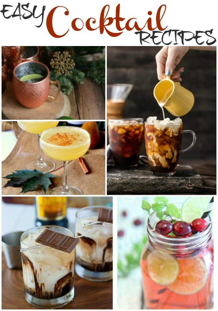 Easy Cocktail Recipes via Refresh Restyle