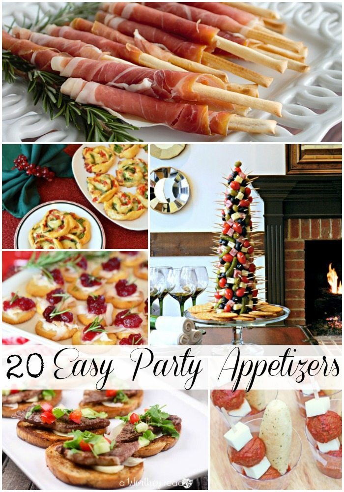 20 Easy Party Appetizers via Refresh Restyle