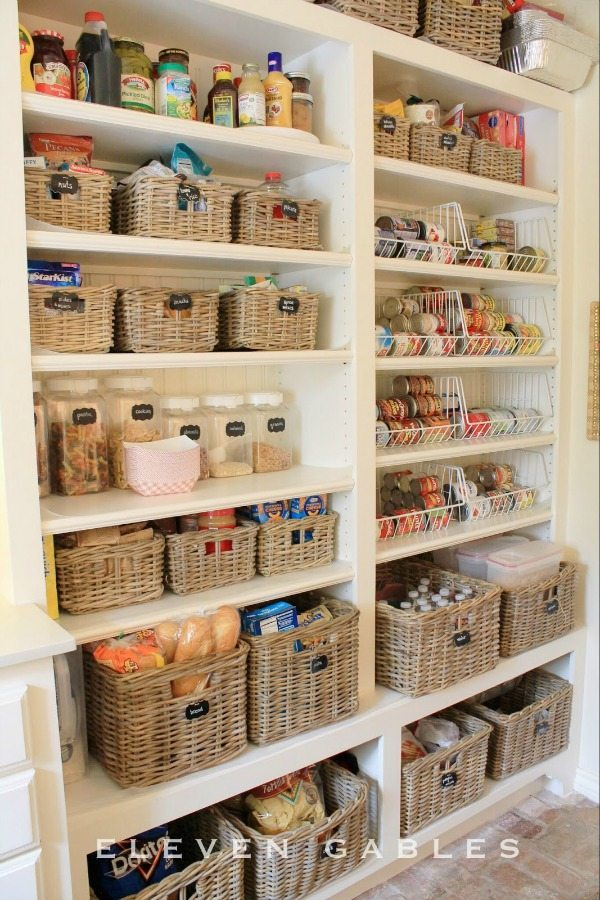 Eleven Gables, Organizing Your Pantry via Refresh Restyle