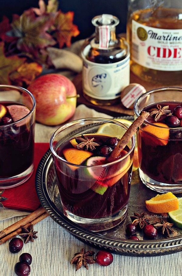 German Mulled Wine, Easy Cocktail Recipes via Refresh Restyle
