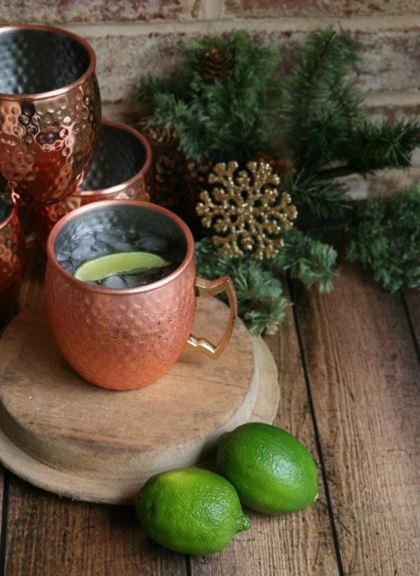 Holiday Moscow Mule, Easy Cocktail Recipes via Refresh Restyle