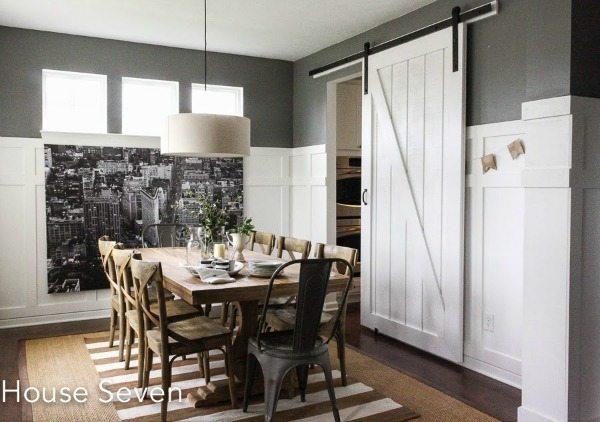 House Seven, Barn Door Ideas