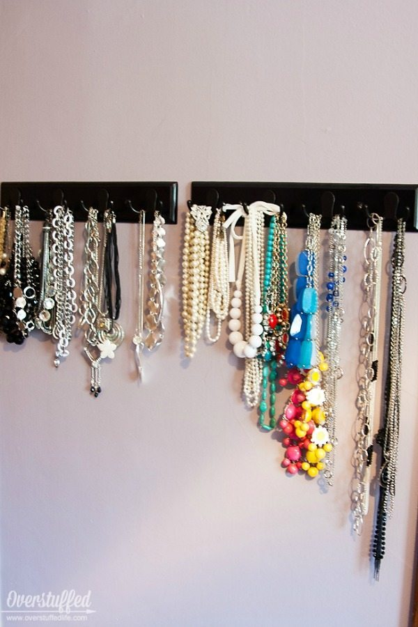 Jewelry Organization, Organization Ideas and Tips via Refresh Restyle
