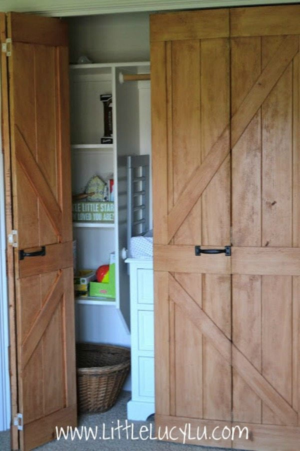 Barn door ideas refresh restyle for Door substitute ideas