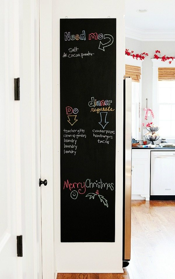 Make a Chalkboard, Organization Ideas and Tips via Refresh Restyle