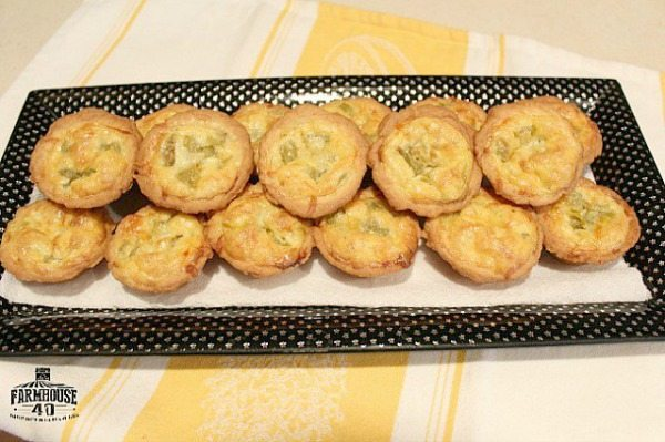 Mini Mexican Quiche, 20 Easy Party Appetizers