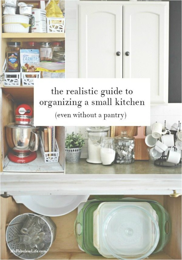 My Fabuless Life, Organizing Your Pantry via Refresh Restyle