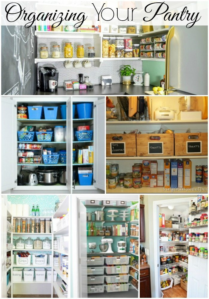 Organizing Your Pantry via Refresh Restyle