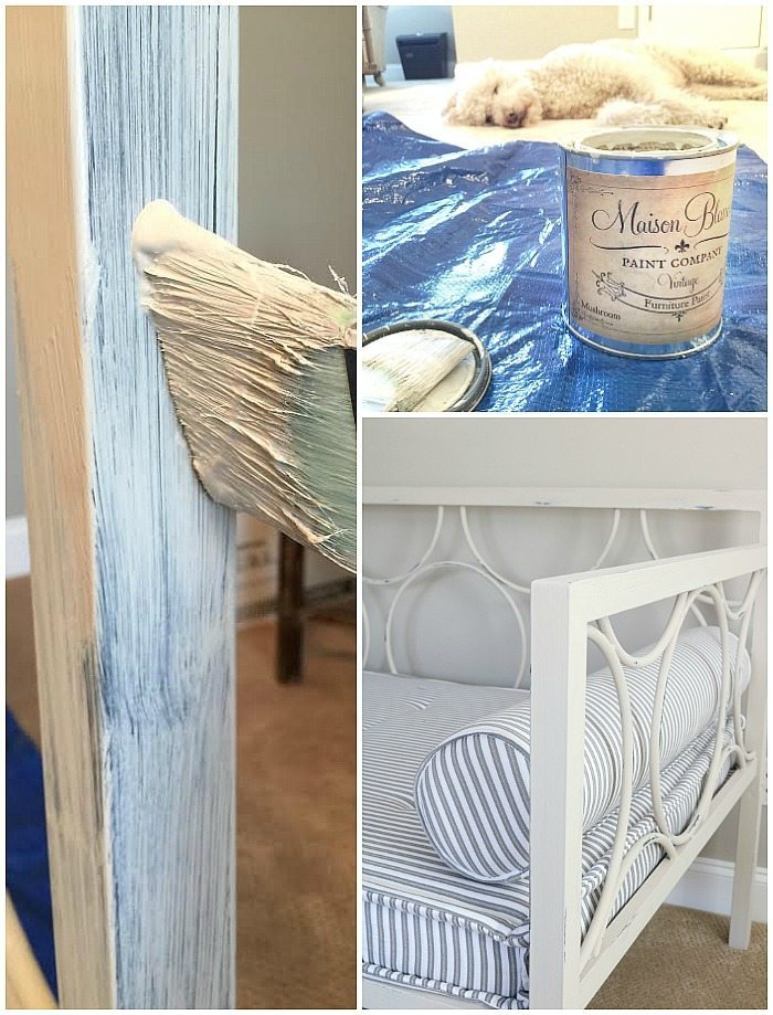 painting-metal-with-maison-blanche-vintage-furniture-paint