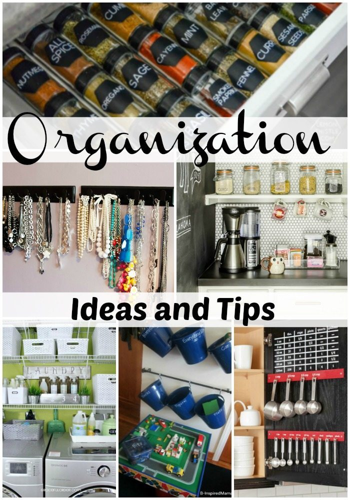 Organization Ideas and Tips via Refresh Restyle