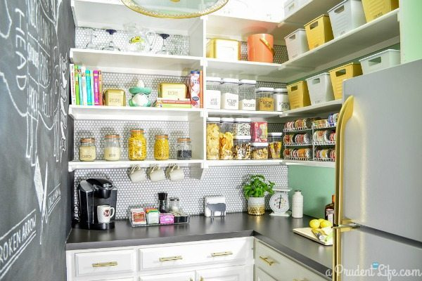 Polished Habitat, Organizing Your Pantry via Refresh Restyle