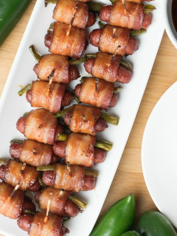 Sweet Glaze Bacon Jalapeno Lil Smokies, 20 Easy Party Appetizers