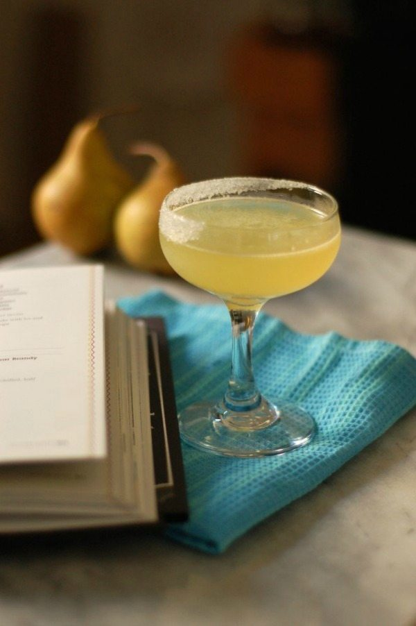 The Perfect Pear Brandy Cocktail, Easy Cocktail Recipes via Refresh Restyle
