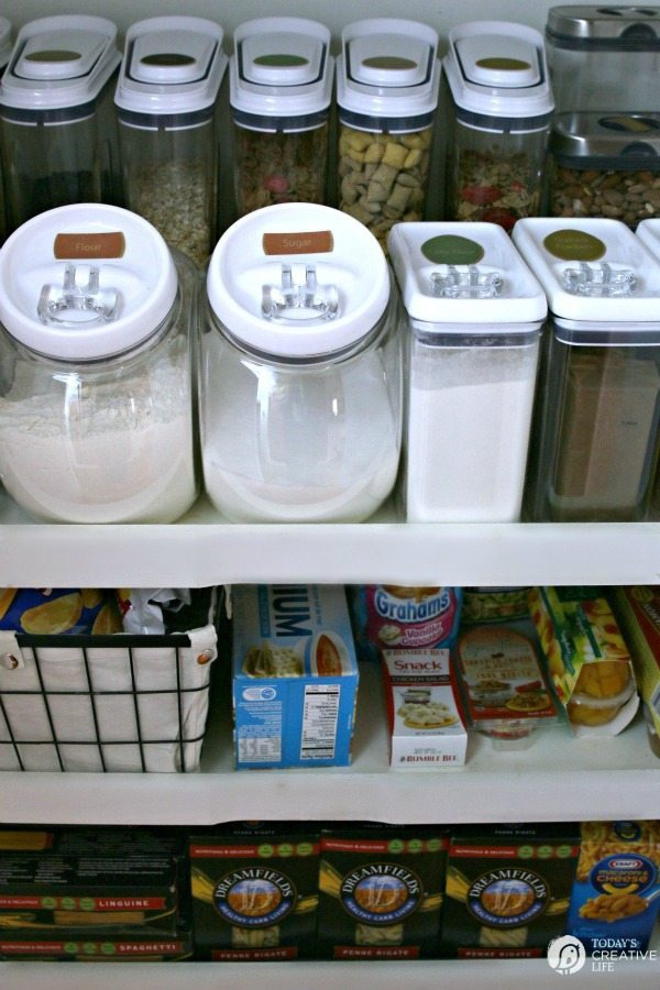 Today's Creative Life, Organizing Your Pantry via Refresh Restyle