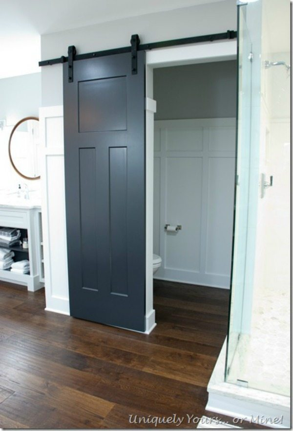 Uniquely Yours or Mine, Barn Door Ideas