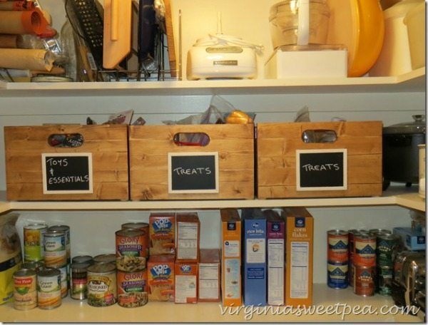 Virginia Sweet Pea, Organizing Your Pantry via Refresh Restyle