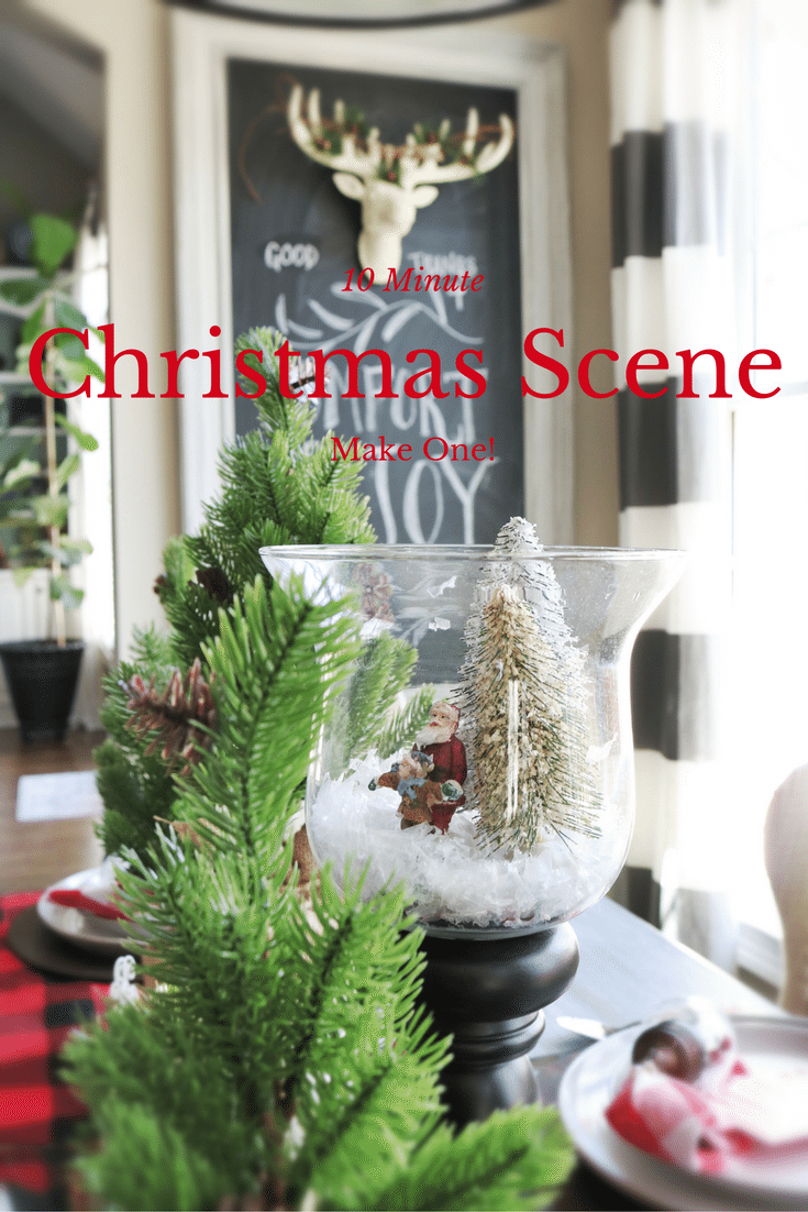 10 Minute Ideas for Christmas decorating