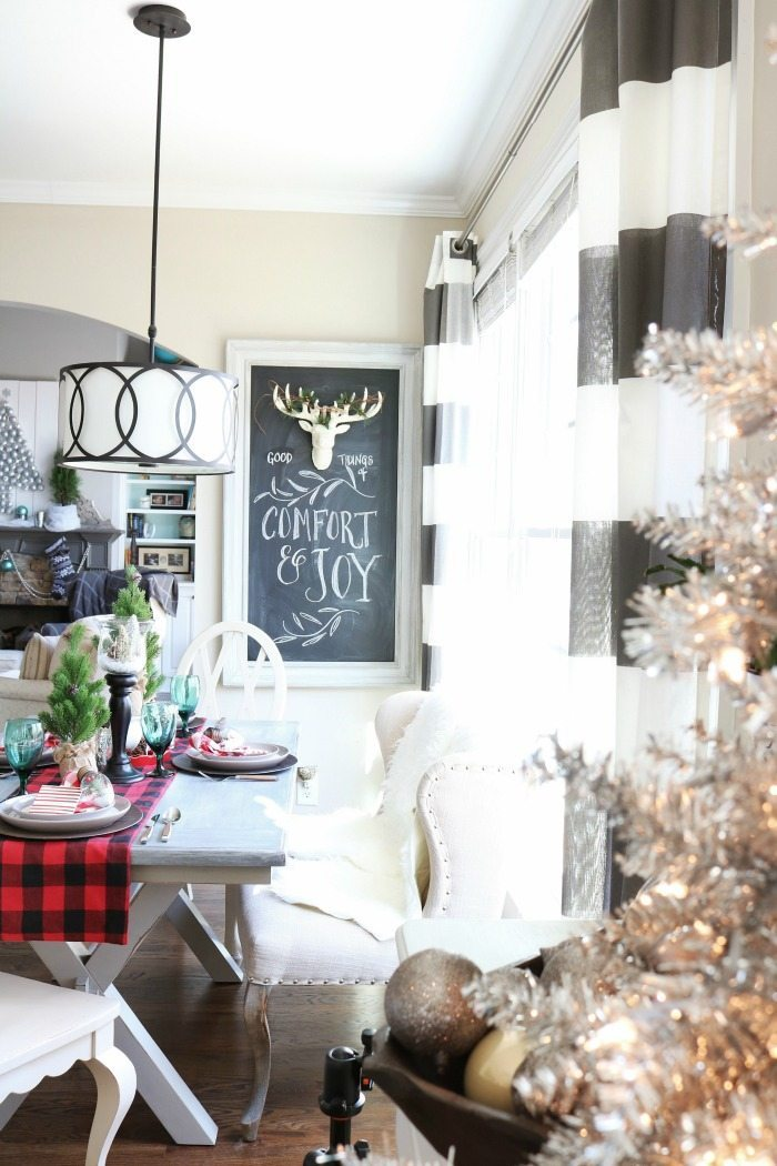 Comfort and Joy quick and easy Christmas idea