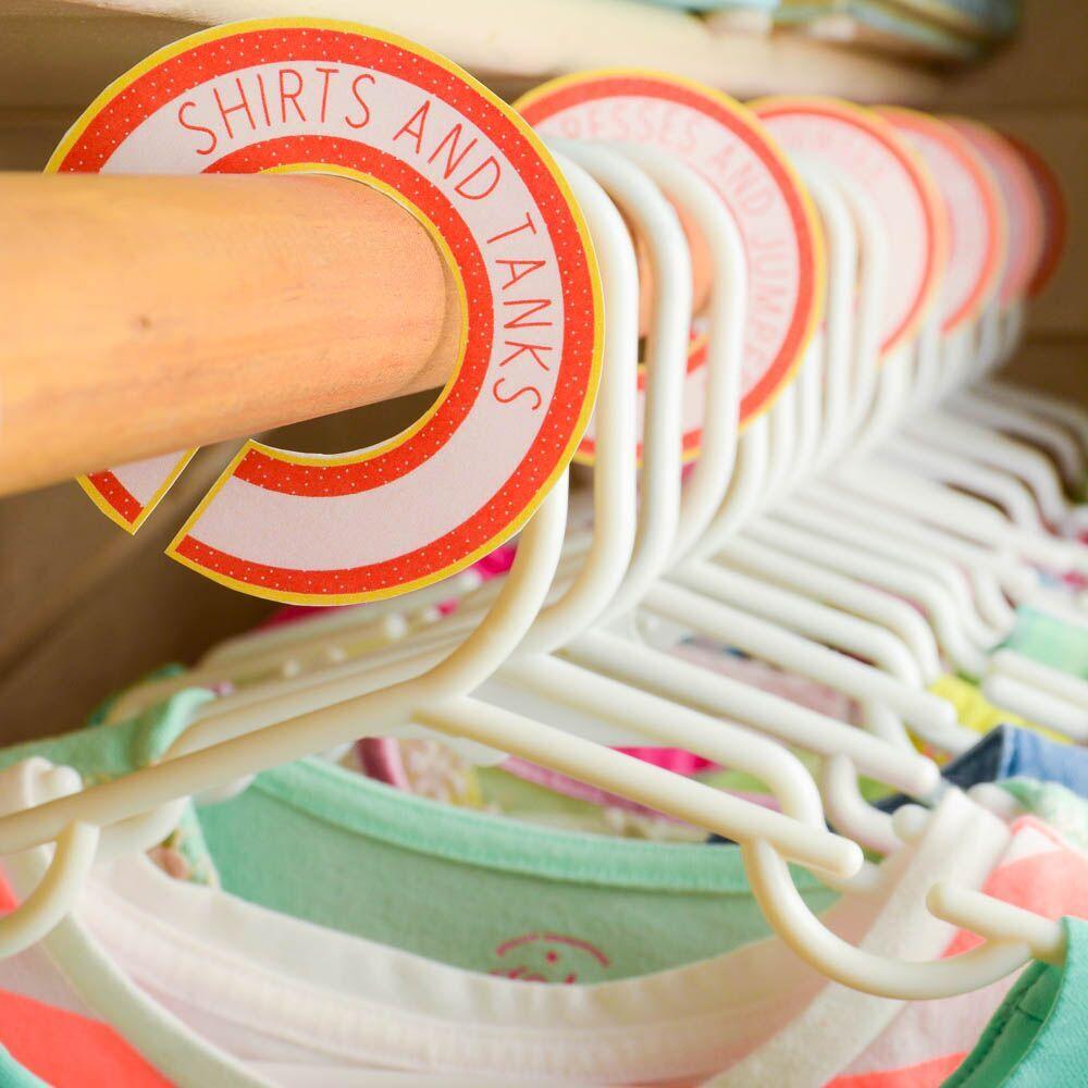 Get your closet organized