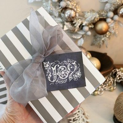 Gift Wrapping + Free Gift Tags