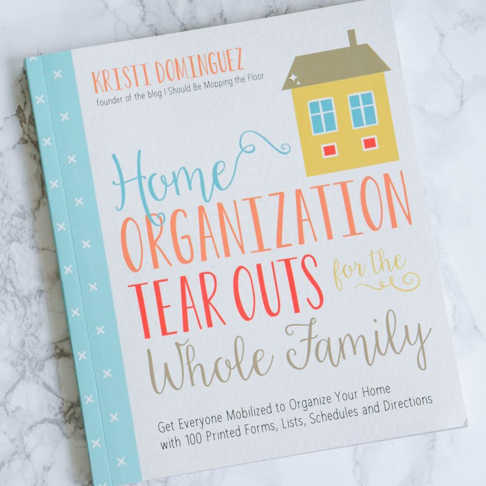Organize your home with these printed forms