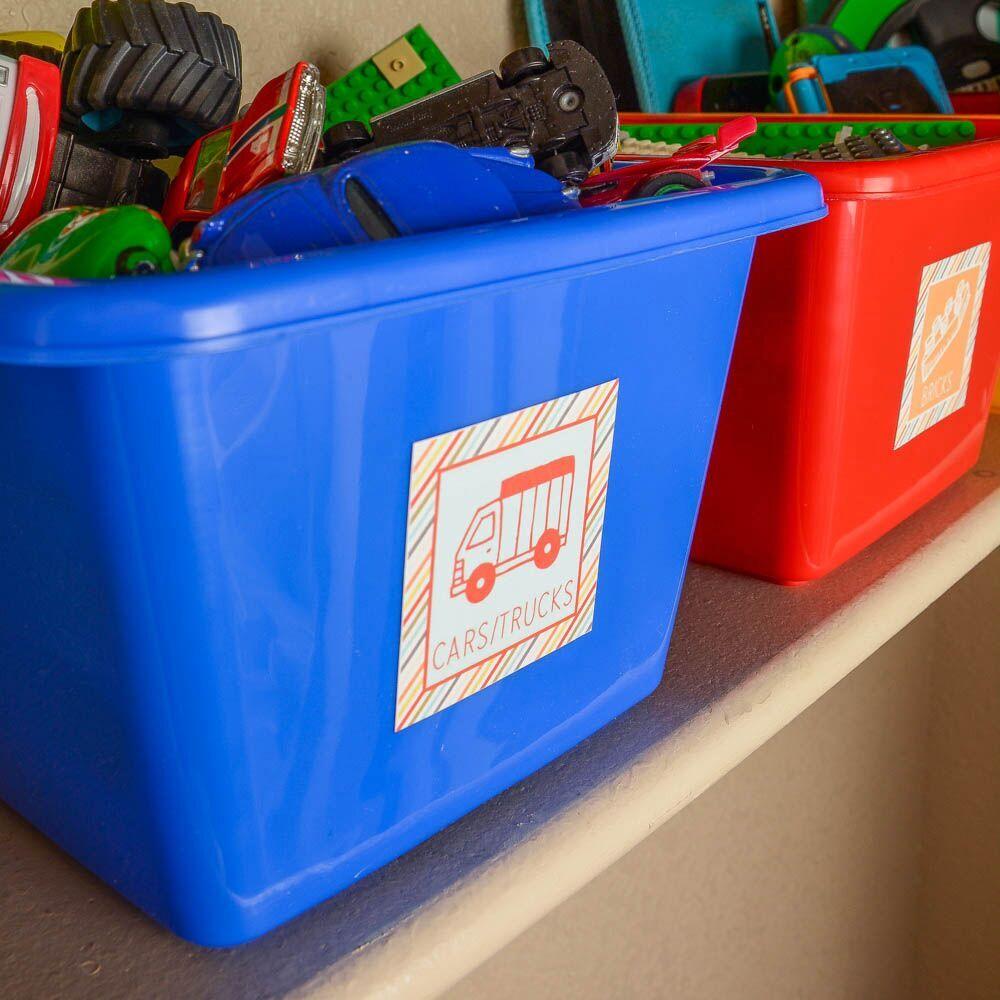 Organize your kids toys