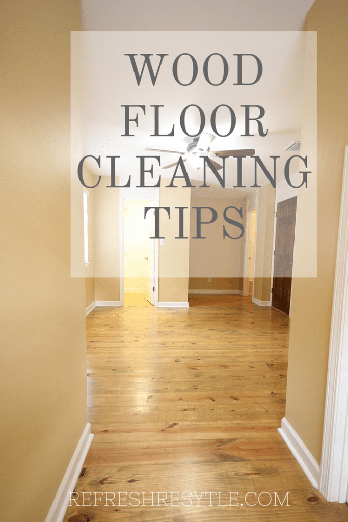 3 TipsFor Cleaning your wood Floor